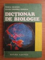 Anticariat: Teofil Craciun - Dictionar de biologie