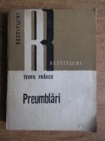 Anticariat: Teofil Francu - Preumblari