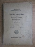 Th. Angheluta - Exercitii si probleme de analiza, teoria functiilor si mecanica rationala (1937)