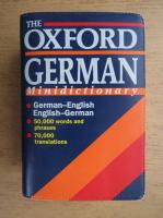 The Oxford german minidictionary