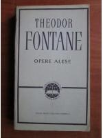 Anticariat: Theodor Fontane - Opere alese