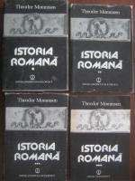 Theodor Mommsen - Istoria Romana (4 volume)