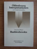 Anticariat: Thomas Mann - Buddenbrooks