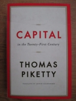 Thomas Piketty - Capital in the twenty-first century