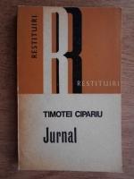 Timotei Cipariu - Jurnal
