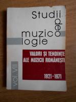 Titus Moisescu - Studii de muzicologie. Valori si tendinte ale muzicii romanesti (volumul 7)