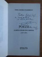 Anticariat: Toma George Maiorescu - Poezii (cu autograful autorului)