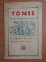 Anticariat: Tomis. Revista patriarhala de Constanta, anul XIX, nr. 3, martie, 1942