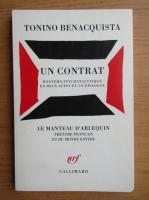 Anticariat: Tonino Benacquista - Un contrat
