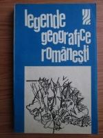 Tony Brill - Legende geografice romanesti