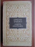 Anticariat: Torquato Tasso - Aminta. Epistolarul