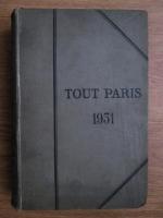 Tout Paris. Annuaire de la Societe Parisienne (1931)