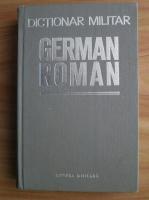 Anticariat: Traian Sava - Dictionar militar german-roman