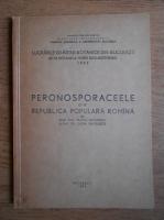 Anticariat: Traian Savulescu - Peronosporaceele din Republica Populara Romana 1963