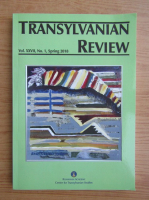Anticariat: Transylvanian Review, vol. XXVII, nr. 1, primavara 2018