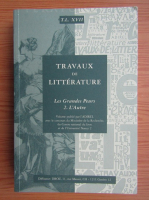 Anticariat: Travaux de litterature