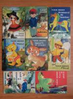Tudor Arghezi - Caseta cu bucurii (set 8 carti, ilustratii de Silvia Cambir)