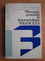 Anticariat: Tudor Ghideanu - Perceptie si morala in fenomenologia franceza