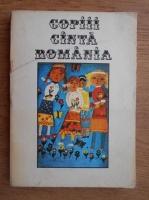 Tudor Opris - Copiii canta Romania