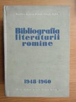Anticariat: Tudor Vianu - Bibliografia literaturii romane 1948-1960