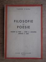 Tudor Vianu - Filosofie si poesie (1943)