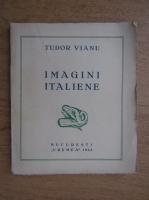 Anticariat: Tudor Vianu - Imagini italiene (1933)