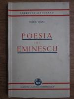 Tudor Vianu - Poesia lui Emiescu (1930)