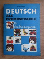 Ursula Brandsch - Deutsch als fremdsprache fur den Kindergarten