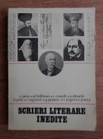 Anticariat: V. Aaron, Al. Beldiman, C. Conachi - Scrieri literare inedite (1820-1845)