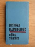 V. Bacauanu - Dictionar geomorfologic