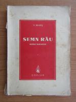 Anticariat: V. Benes - Semn rau. Nuvele fantastice (1943)