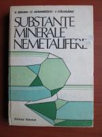 V. Brana - Substante minerale nemetalifere