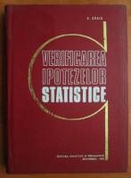 V. Craiu - Verificarea ipotezelor statistice