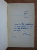 Anticariat: V. Firoiu - Sportivi sub cupola academiei (cu autograful autorului)