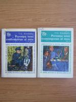 Anticariat: V. G. Korolenko - Povestea unui contemporan al meu (2 volume)