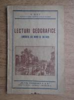 Anticariat: V. Hilt - Lecturi Geografice, America de nord si de sud (1940)