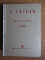 V. I. Lenin - Opere alese (volumul 2, partea a 2-a, 1949)
