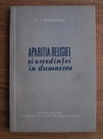 Anticariat: V. I. Prokofiev - Aparitia religiei si a credintei in Dumnezeu