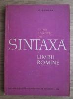 Anticariat: V. Serban - Curs practic de sintaxa a limbii romane