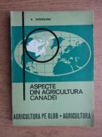 V. Vranceanu - Aspecte din agricultura Canadei