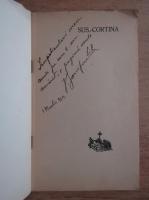 Anticariat: V. Zamfirescu - Sus cortina (cu autograful autorului, 1928)