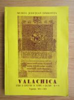 Anticariat: Valachica, studii si cercetari de istorie a culturii