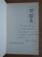 Anticariat: Valentin Ciuca - Colocvii pentru mai tarziu (cu autograful autorului)