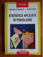 Anticariat: Valentin Clocotici - Statistica aplicata in psihologie