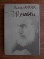 Valeriu Anania - Memorii