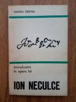 Anticariat: Valeriu Cristea - Introducere in opera lui Ion Neculce