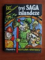 Anticariat: Valeriu Munteanu - Trei saga islandeze