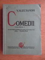 Anticariat: Vasile Alecsandri - Comedii (volumul 1, 1934)