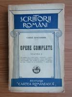 Anticariat: Vasile Alecsandri - Opere complete. Teatru (volumul 2, 1928)