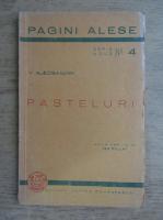 Anticariat: Vasile Alecsandri - Pasteluri (1936)